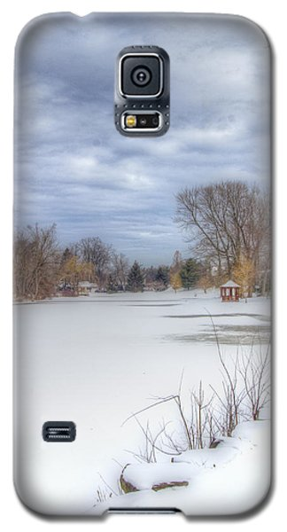 Snowy Lake Galaxy S5 Case