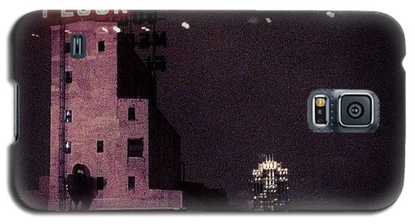 Light Galaxy S5 Case - Snowy Night  by Heidi Hermes