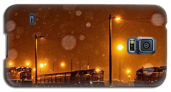 Snowy Night Galaxy S5 Case