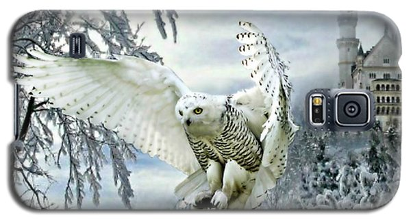 Snowy Owl Galaxy S5 Case by Morag Bates