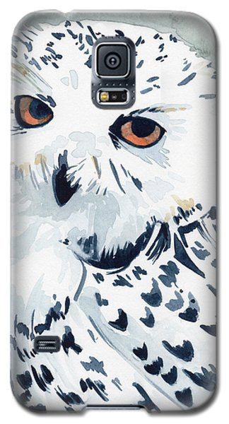 Snowy Owl Galaxy S5 Case