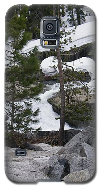Galaxy S5 Case featuring the photograph Snowy Sierras by Bobbee Rickard