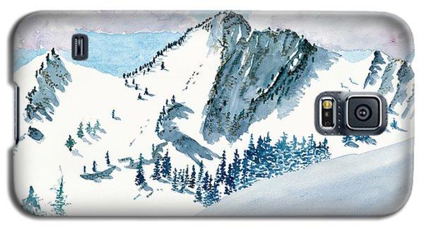 Snowy Wasatch Peak Galaxy S5 Case