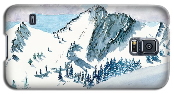 Snowy Wasatch Peak Galaxy S5 Case