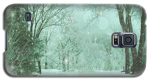 Snowy Winter Night Galaxy S5 Case