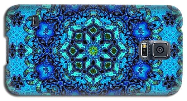 So Blue - 33 - Mandala Galaxy S5 Case by Aimelle
