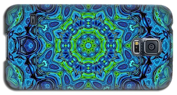So Blue - 43 - Mandala Galaxy S5 Case