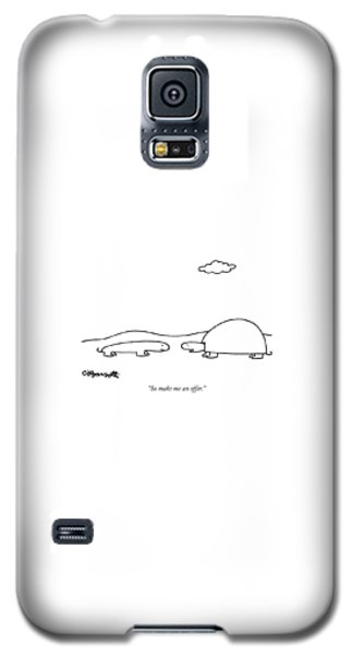 Salamanders Galaxy S5 Case - So Make Me An Offer by Charles Barsotti