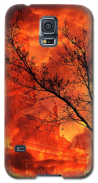 Galaxy S5 Case featuring the photograph So Says The Crow by Jennifer Muller