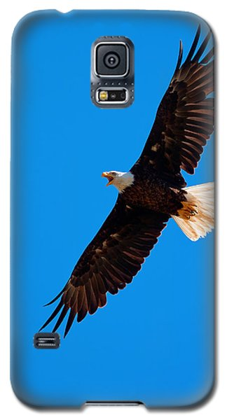 Galaxy S5 Case featuring the photograph Soaring by Aaron Whittemore