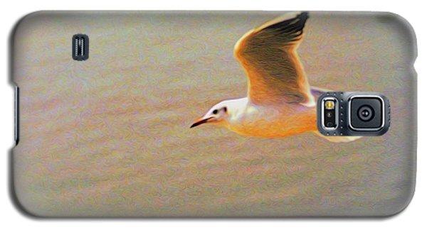 Soaring Gull Galaxy S5 Case by Dennis Lundell