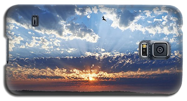 Soaring Sunset Galaxy S5 Case