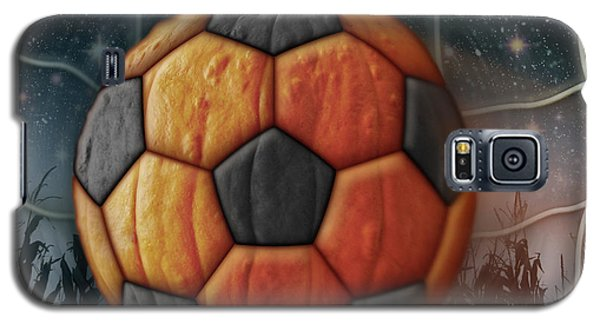 Soccer Ball Pumpkin Galaxy S5 Case
