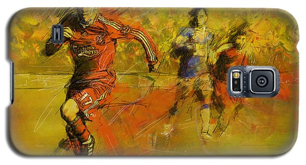 Soccer  Galaxy S5 Case by Corporate Art Task Force
