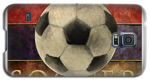 Soccer Poster Galaxy S5 Case by Craig Tinder