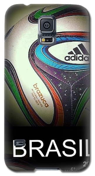 Soccer World Cup Poster 1 Galaxy S5 Case by Andrew Drozdowicz