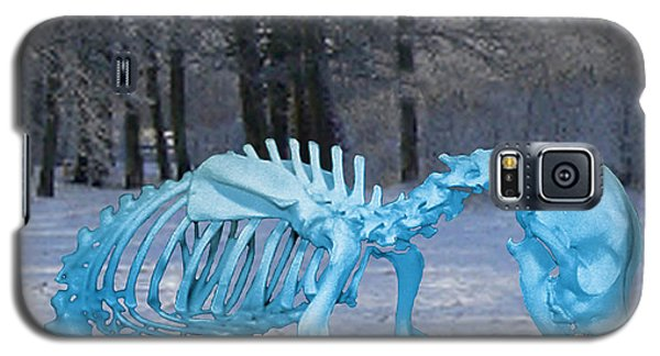 Galaxy S5 Case featuring the digital art Sochi 2014 Dog Slaughter by Eric Kempson