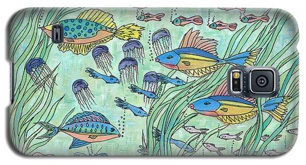 Society Of Fish Galaxy S5 Case