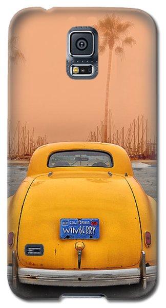 Sofa Car Orange Galaxy S5 Case