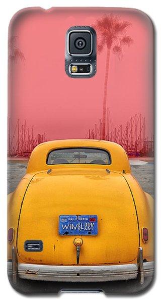 Sofa Car Red Galaxy S5 Case
