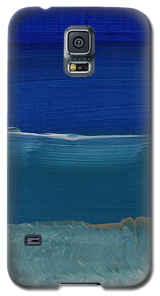 Soft Crashing Waves- Abstract Landscape Galaxy S5 Case by Linda Woods