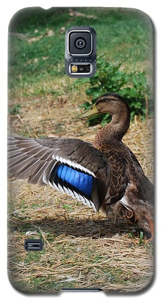 Galaxy S5 Case featuring the photograph Soft Landing by Ramona Whiteaker