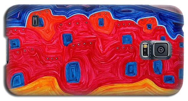Soft Pueblo Original Painting Galaxy S5 Case