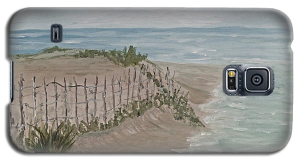 Soft Sea Galaxy S5 Case by Barbara McDevitt
