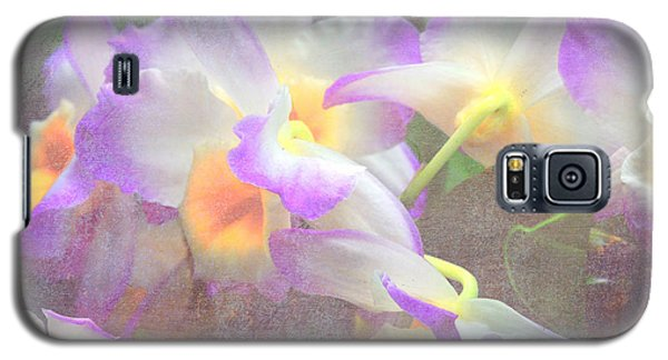 Soft Subtle Orchids Galaxy S5 Case