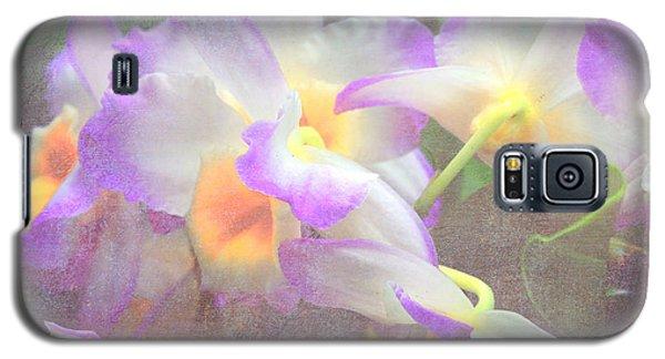 Soft Subtle Orchids Galaxy S5 Case