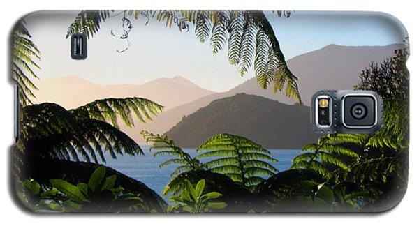 Soft Sun On Hills Through Ferns Galaxy S5 Case
