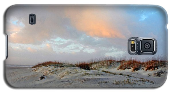 Galaxy S5 Case featuring the photograph Soft Sun Rise by Allen Carroll