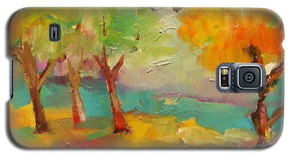 Soft Trees Galaxy S5 Case by Michelle Abrams
