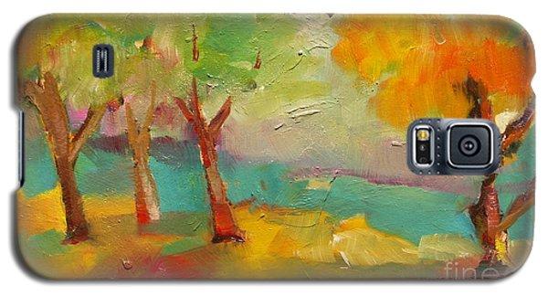 Soft Trees Galaxy S5 Case