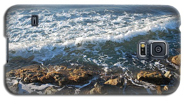 Soft Waves Galaxy S5 Case by George Katechis