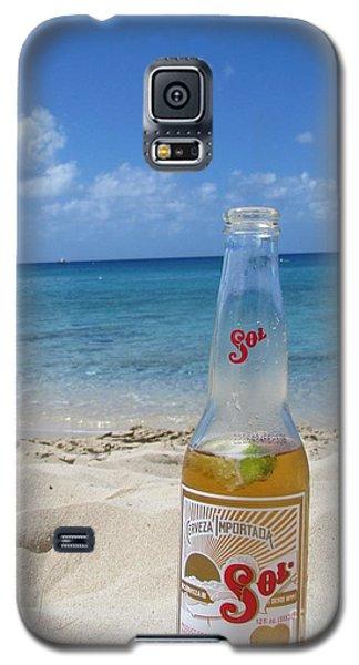 Sol On The Beach Galaxy S5 Case