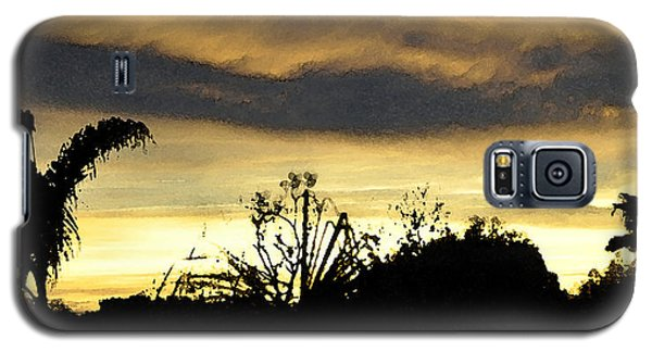 Galaxy S5 Case featuring the digital art Solana Beach Sunset 3 by Kirt Tisdale