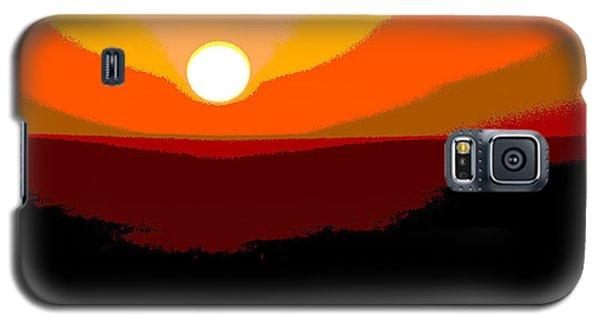 Solar Abstract Galaxy S5 Case