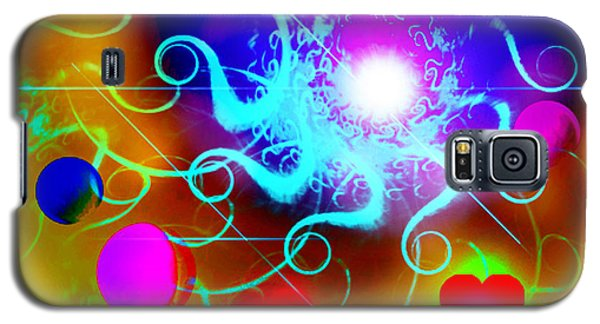 Galaxy S5 Case featuring the digital art Solar Event by Ute Posegga-Rudel
