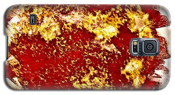 Solar Flares Galaxy S5 Case
