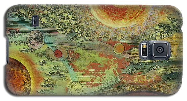 Solar Symphony Galaxy S5 Case by Carol Jacobs