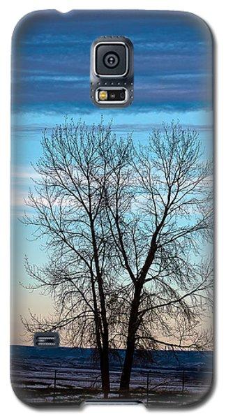 Soldier Creek Sunset Galaxy S5 Case