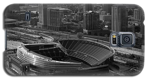 Soldier Field Chicago Sports 05 Black And White Galaxy S5 Case