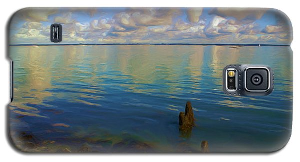 Galaxy S5 Case featuring the digital art Solent by Ron Harpham