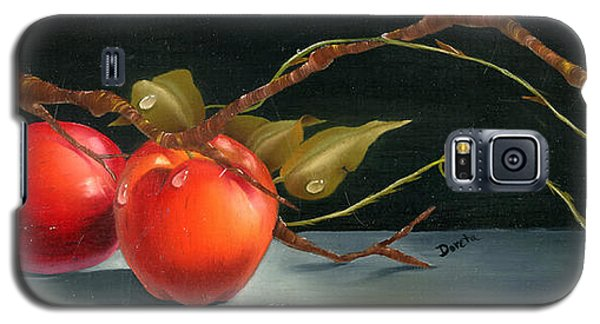 Solitary Apples Galaxy S5 Case