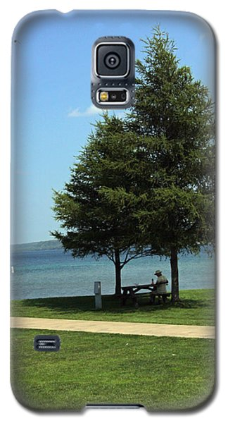 Solitary Superior Lunch Galaxy S5 Case by Bill Woodstock