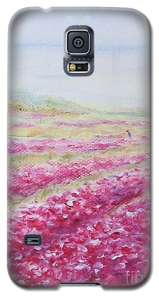 Galaxy S5 Case featuring the painting Solitude by Jane  See