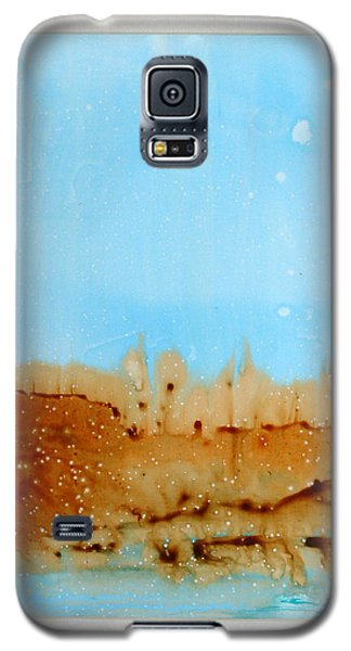 Galaxy S5 Case featuring the painting Solitude by Keith Thue