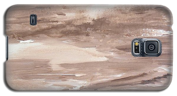 Galaxy S5 Case featuring the painting Solitude by Susan  Dimitrakopoulos
