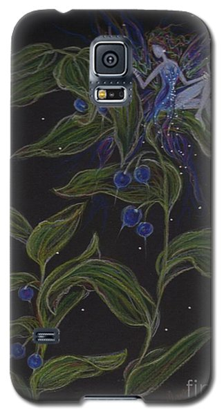 Galaxy S5 Case featuring the drawing Solomon's Seal by Dawn Fairies